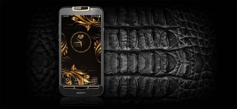 Gemry R12 - смартфон с изысканной «внешностью»