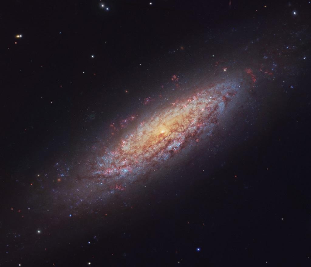 Учеными была найдена самая одинокая галактика во Вселенной
