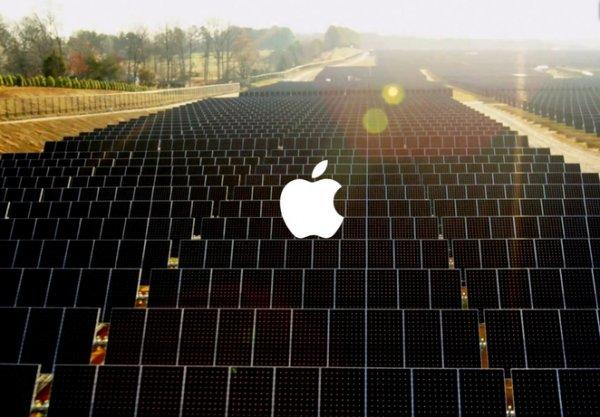 """""""Солнечная ферма"""" от Apple"""