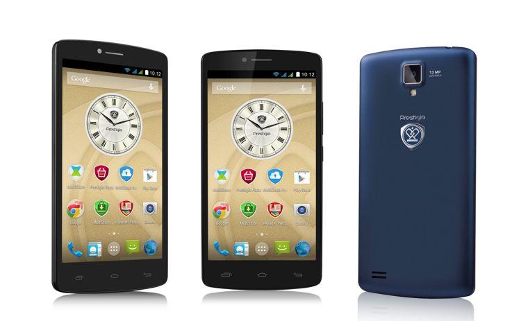 MultiPhone 5550 DUO - новый смартфон от компании Prestigio теперь в продаже