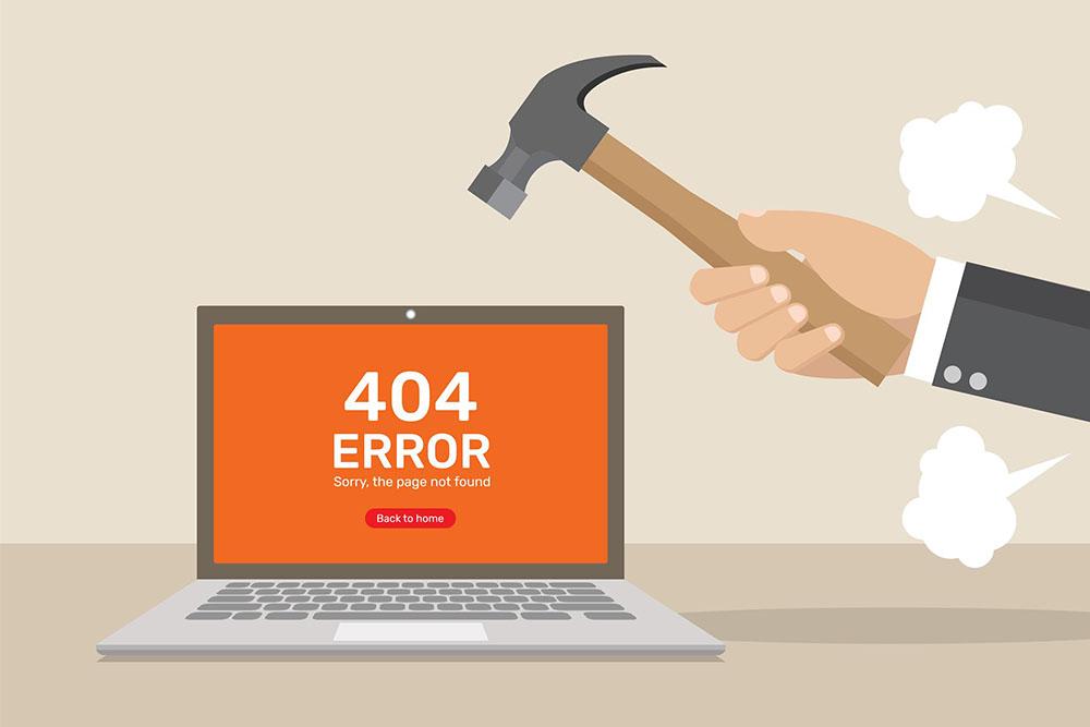 404-я страница —инструкция по оптимизации